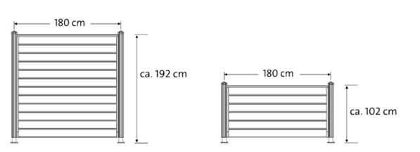 11055520180214 sichtschutzzaun thorsten inspiration. Black Bedroom Furniture Sets. Home Design Ideas